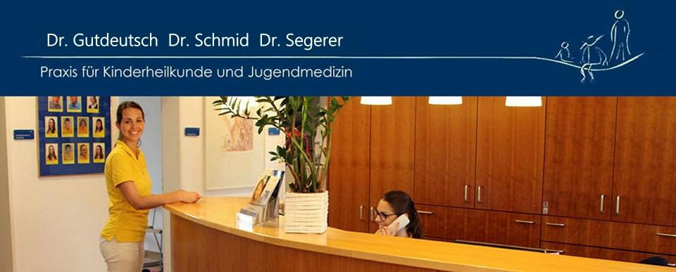 Kinderärzte Regensburg Dr Gutdeutsch  Dr Schmid  Dr. Segerer